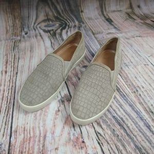 Joie Huxley Gray Suede Slip-on Shoes 8.5